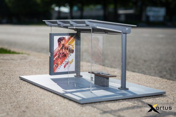 Xortus Ant Man and Wasp Bus Shelters (3)